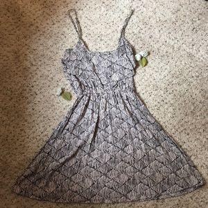 Cotton On spaghetti strap ruffle dress